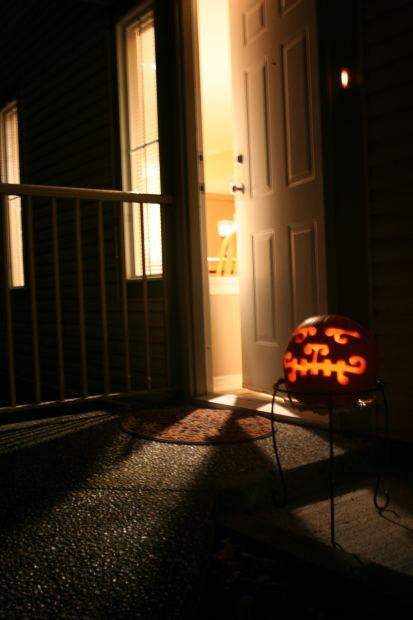 Halloweendoor